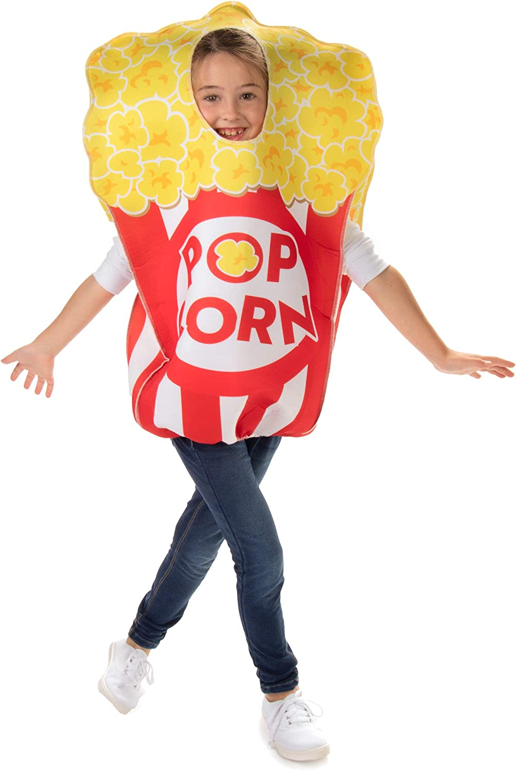 Movie Theatre Popcorn Childrens Halloween Costume - Funny Food Kids Outfit