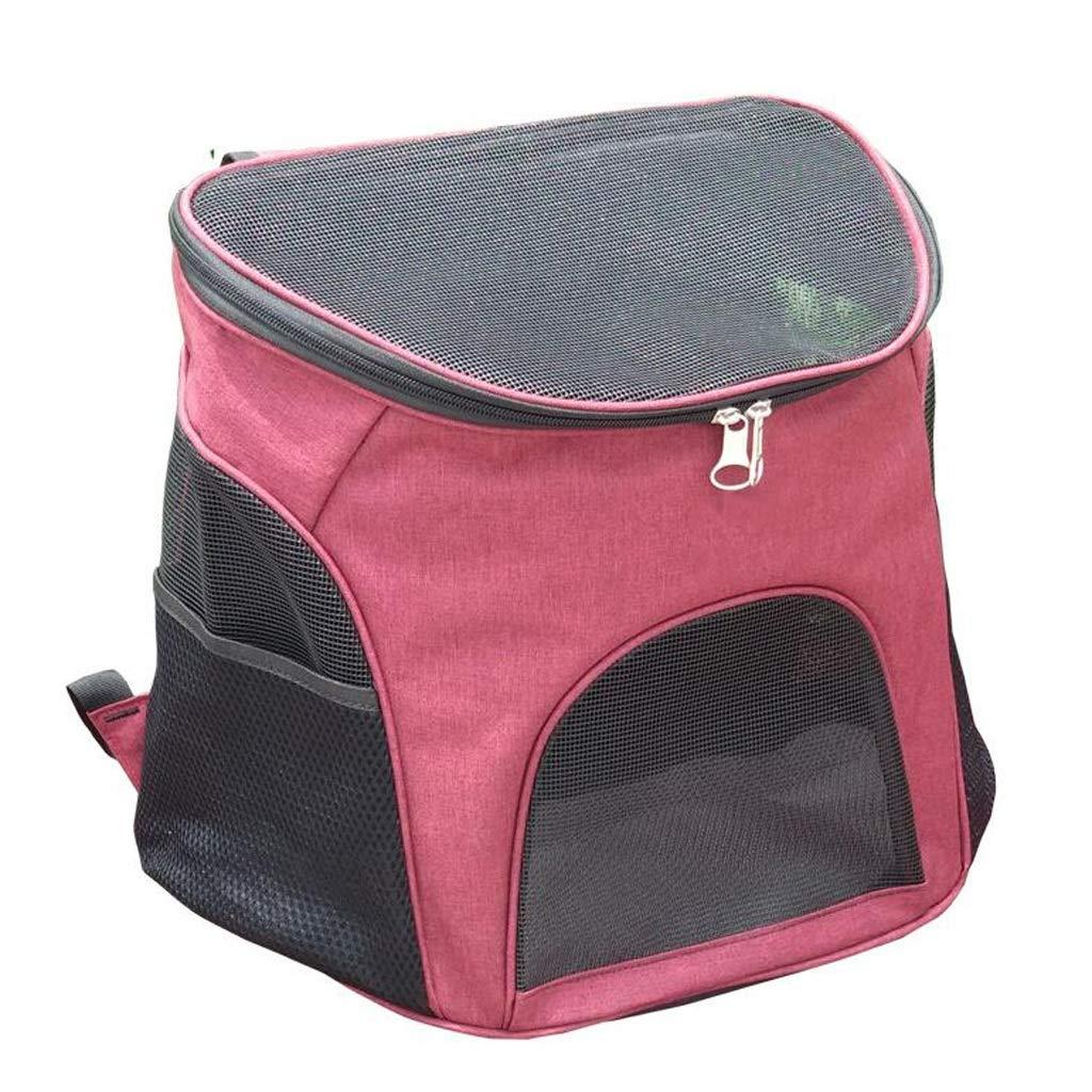 FJH Cat Bag Pet Backpack Summer Breathable Dog Backpack Pet Bag Teddy Out Carrying Bag Dog Bag Cat Backpack