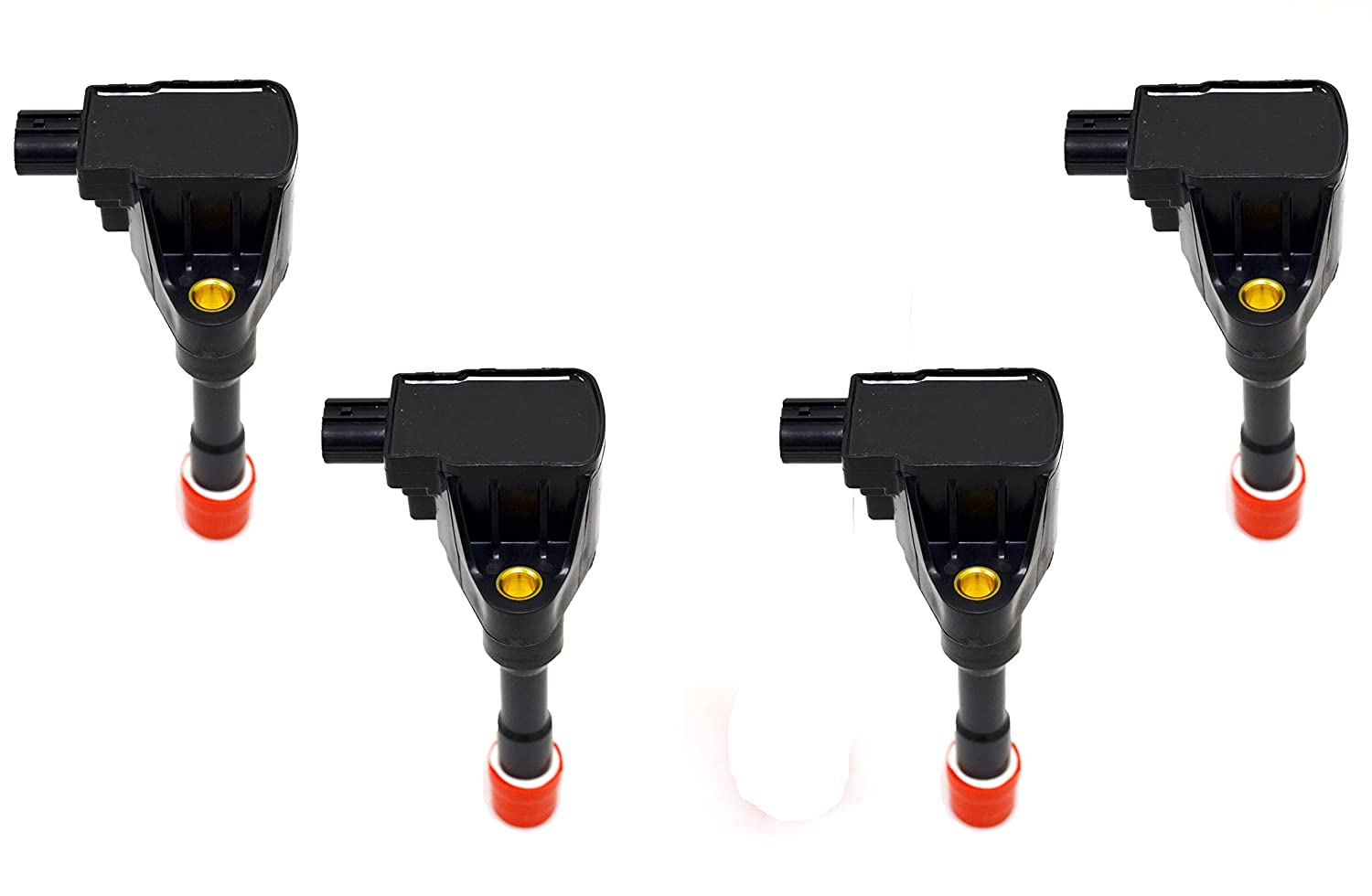 Ignition Coil Set of 4 PT Auto Warehouse IC374X4