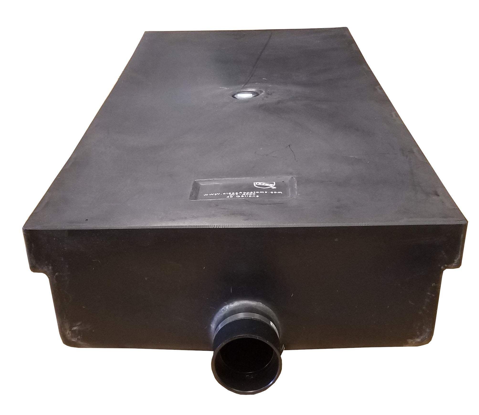 Class A Customs 40 Gallon RV Waste Black Gray Water Holding Tank Concession 56.50'' x 24.50'' x 9'' WT-4000 by Class A Customs (Image #1)