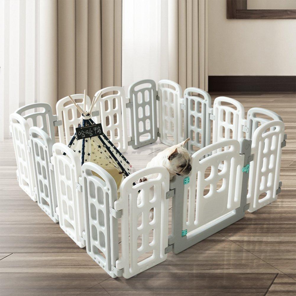ペット フェンス,室内犬ケージ大型中型小型ペット ベビー サークル白ペット犬小屋 -シングルドア 68x68x7cm(27x27x3) B07CVTW77B 16885 68x68x7cm(27x27x3)|シングルドア シングルドア 68x68x7cm(27x27x3)