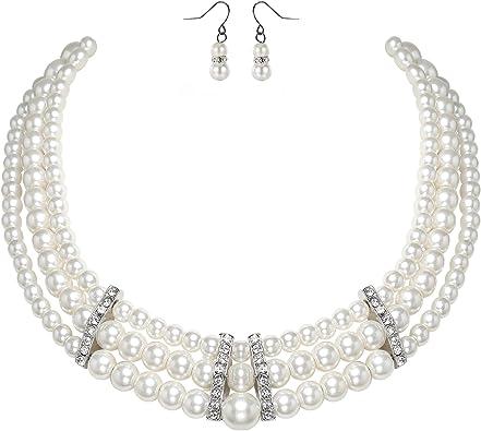 photo collier perle