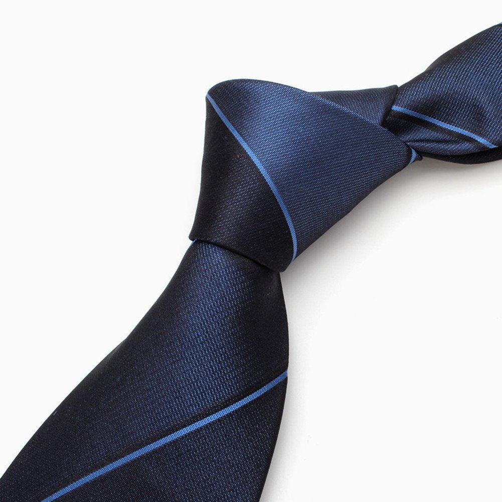 Dress business tie//silk professional striped tie