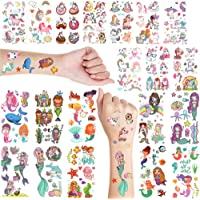 EH.DT Mermaid & Unicorn Temporary Tattoo For Girls|Temporary Tattoo For Kid|Fake Tattoo For Kids|Unicorn Tattoo Sticker…