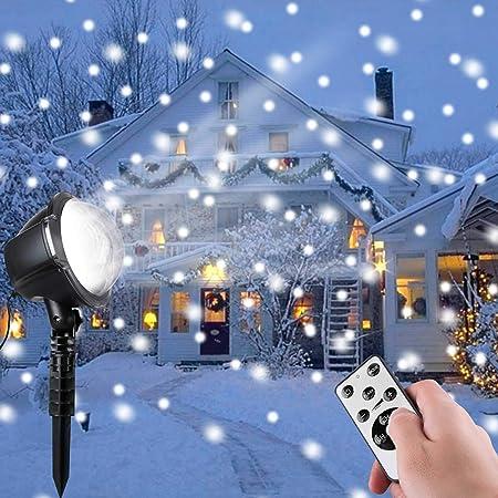 Amazon.com: Luces de proyector LED de Navidad.: Jardín y ...