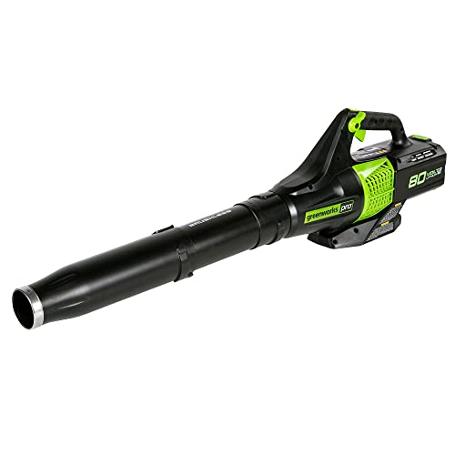 Greenworks 80V Pro Jet Leaf Blower, Battery and Charger Not Included, BL80L00