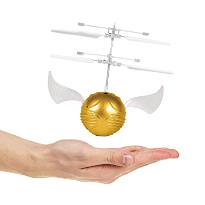 World Tech Toys Golden Snitch Harry Potter IR UFO Ball Helicopter: Toys & Games