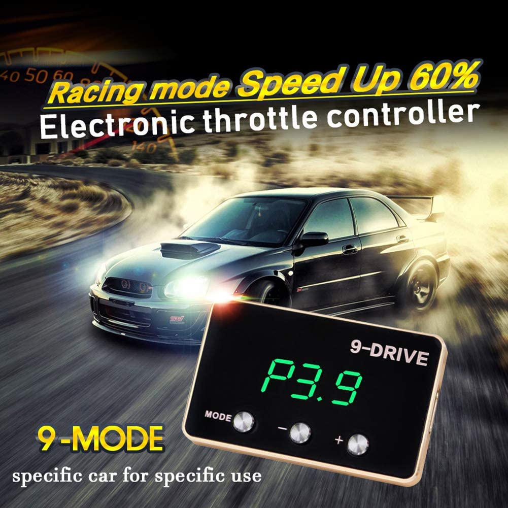 9 Drive Throttle Response Controller Speed Up Car Electronic Auto Accelerator Accessories Throttle Controller