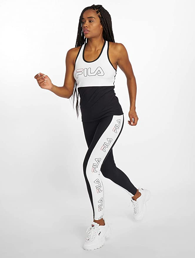 Urban Amazon it Fila Power Leggings Line Pantaloni Feste Donna txBUfqwnR