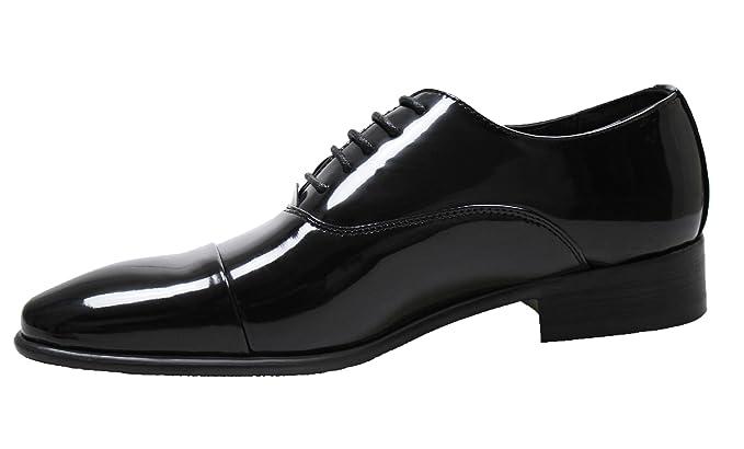 design innovativo f64b4 e2a5f Scarpe uomo eleganti nero classiche calzature man's shoes ...