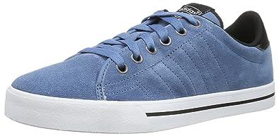 buy online 29f5b 77eea adidas Originals Mens ADICOURT AS Slippers Blue Size UK 7.5