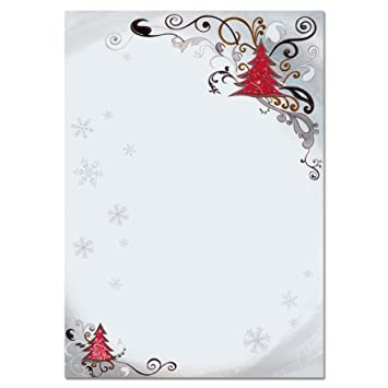 sigel dp043 christmas writing paper motif fairy tale a4 90 gsm
