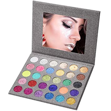 Popular Brand Givenone Long-lasting Mermaid Dazzling Glitter Powder Eyeshadow Nail Body Art Makeup Palette Easy To Wear Waterproof Reputation First Beauty & Health