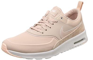 best authentic 5b269 bb4f8 Nike Damen WMNS Air Max Thea PRM Fitnessschuhe,Mehrfarbig (Particle Beige  206),
