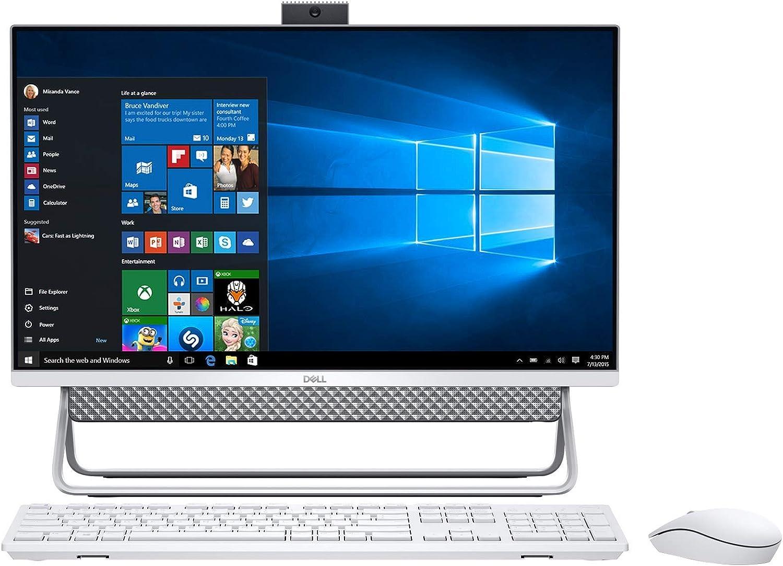 "Dell Inspiron 24 5000 Premium All-in-one Desktop I Computer 23.8"" FHD Narrow Border I 10th Gen Intel Core i3-10110U I 16GB DDR4 1TB SSD I USB-C WiFi Win10"