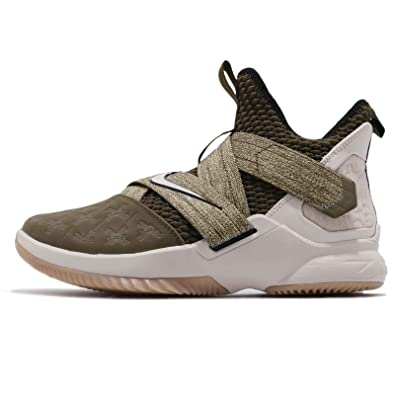 factory authentic fd1ec b55b7 Nike Mens Lebron Soldier XII EP, Olive CanvasString, ...