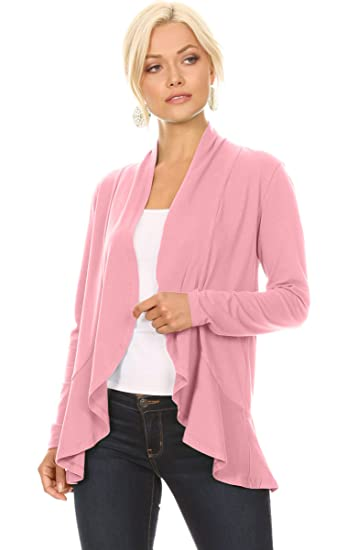 Ruffle Cardigan Sweaters For Women Made In Usa At Amazon Womens