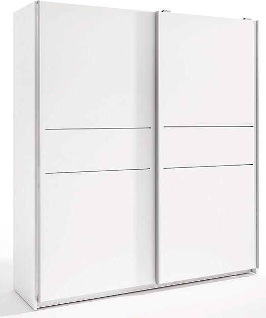 Miroytengo Armario Grande Color Blanco 2 Puertas correderas ...