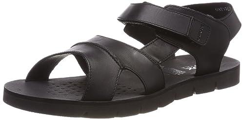 Geox Men's Leather Outdoor Sandals: Buy