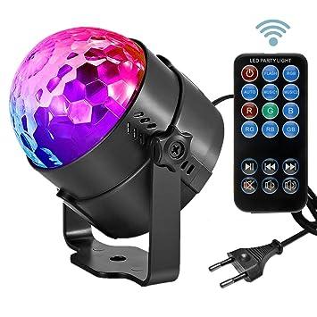 Led Sound Aktivierte Party Lichter Disco Ball Dj Strobe Club Lampe 7