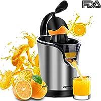SOWTECH Electric Citrus Anti-drip Citrus Stainless Steel Juicer (Black)