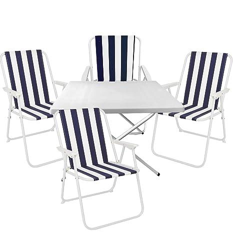 Ajustable a 5 piezas muebles conjunto de camping de acampada ...