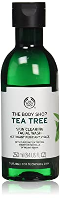 The Body Shop Tea Tree Skin Clearing Facial Wash, Made with Tea Tree Oil