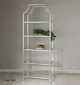 Amazon.com: Colección de Etagere el Aurelie de plata ...