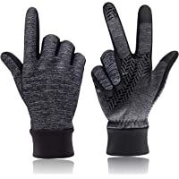 HiCool Winter Gloves, Touch Screen Gloves Winter Warm Thermal Gloves Running Gloves Cold Weather Gloves Driving Riding Cycling Gloves Outdoor Sports Gloves for Men and Women