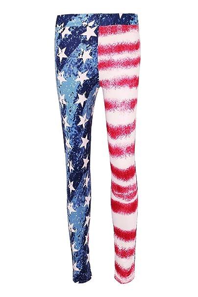 DREAGAL USA American Flag Leggings