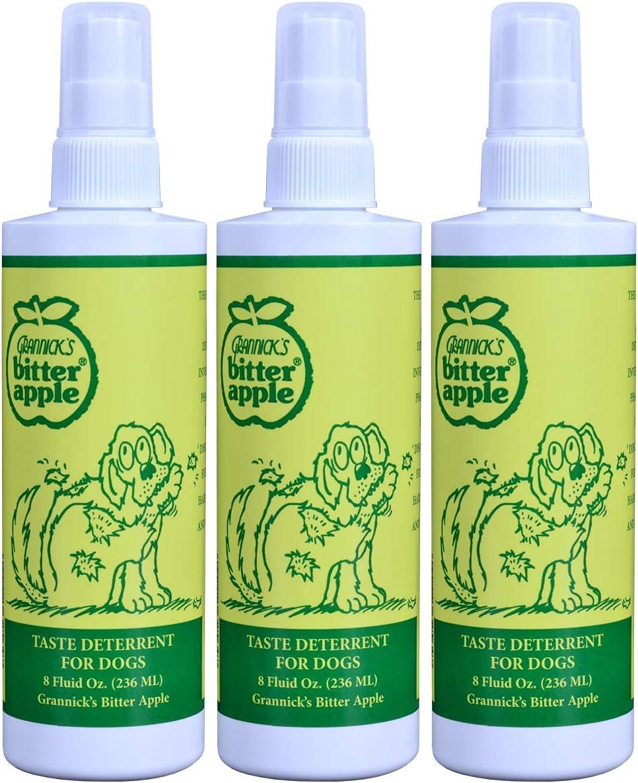 Grannicks Bitter Apple Taste Deterrent for Dogs - 3 Pack