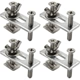 Genmitsu 4PCS T-Track Mini Hold Down Clamp Kit, Compatible with 3018-PRO/3018-MX3/3018-PROVer CNC Router Machine