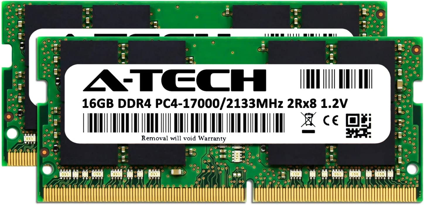 Server Memory Ram AT385302SRV-X1R10 A-Tech 32GB Module for GIGABYTE R280-G2O DDR4 PC4-19200 2400Mhz ECC Registered RDIMM 2rx4