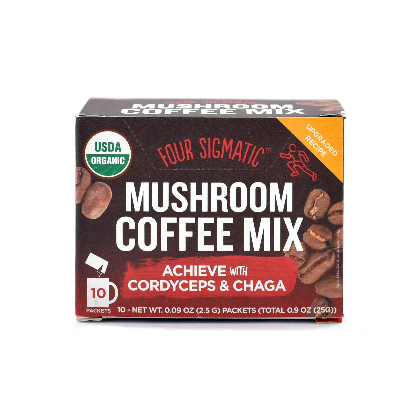 Four Sigmatic Mushroom Coffee Mix Pack of 2 - Lion's Mane and Chaga & Cordyceps and Chaga by Four Sigmatic (Image #4)