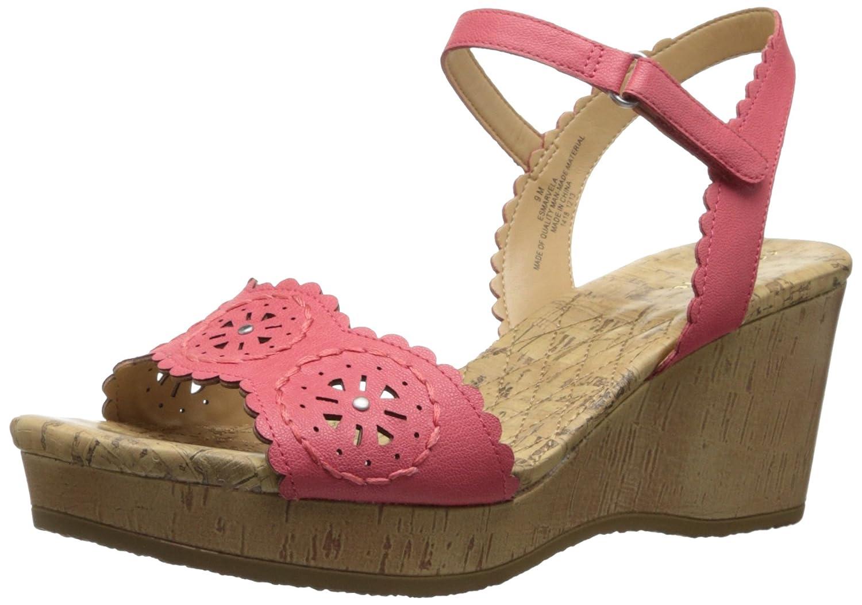 Easy Spirit Women's Marvela Wedge Sandal B00I6CG8GY 8.5 B(M) US Red