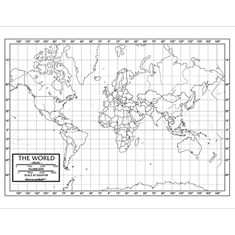 World Outline Map Pack: Kappa Map Group: 9780762578382 ...