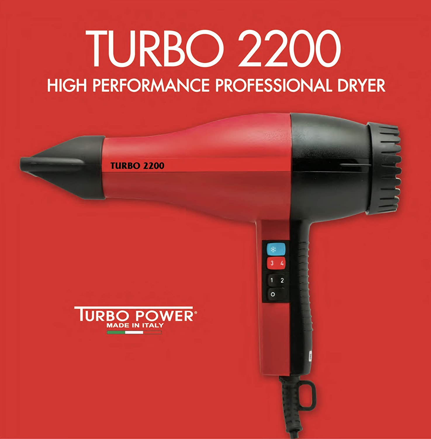 Turbo Power Turbo 2200 Professional Hair Dryer