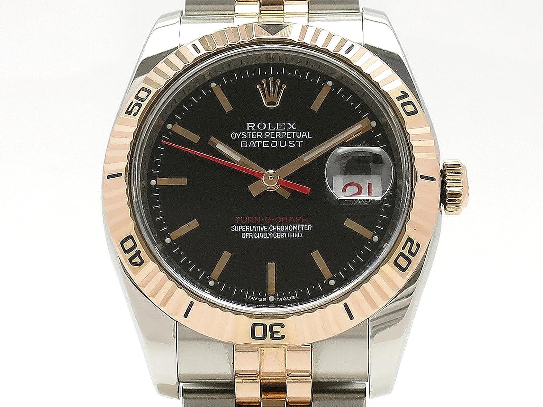 (ロレックス) ROLEX 腕時計 ターノグラフ オイスターブレス 116261(D) K18PG/SS 中古 B07D8RS1JK