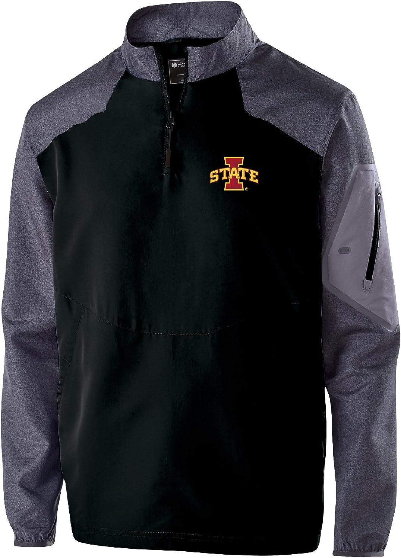 Carbon Print//Black Ouray Sportswear NCAA Iowa State Cyclones Raider Pullover Medium