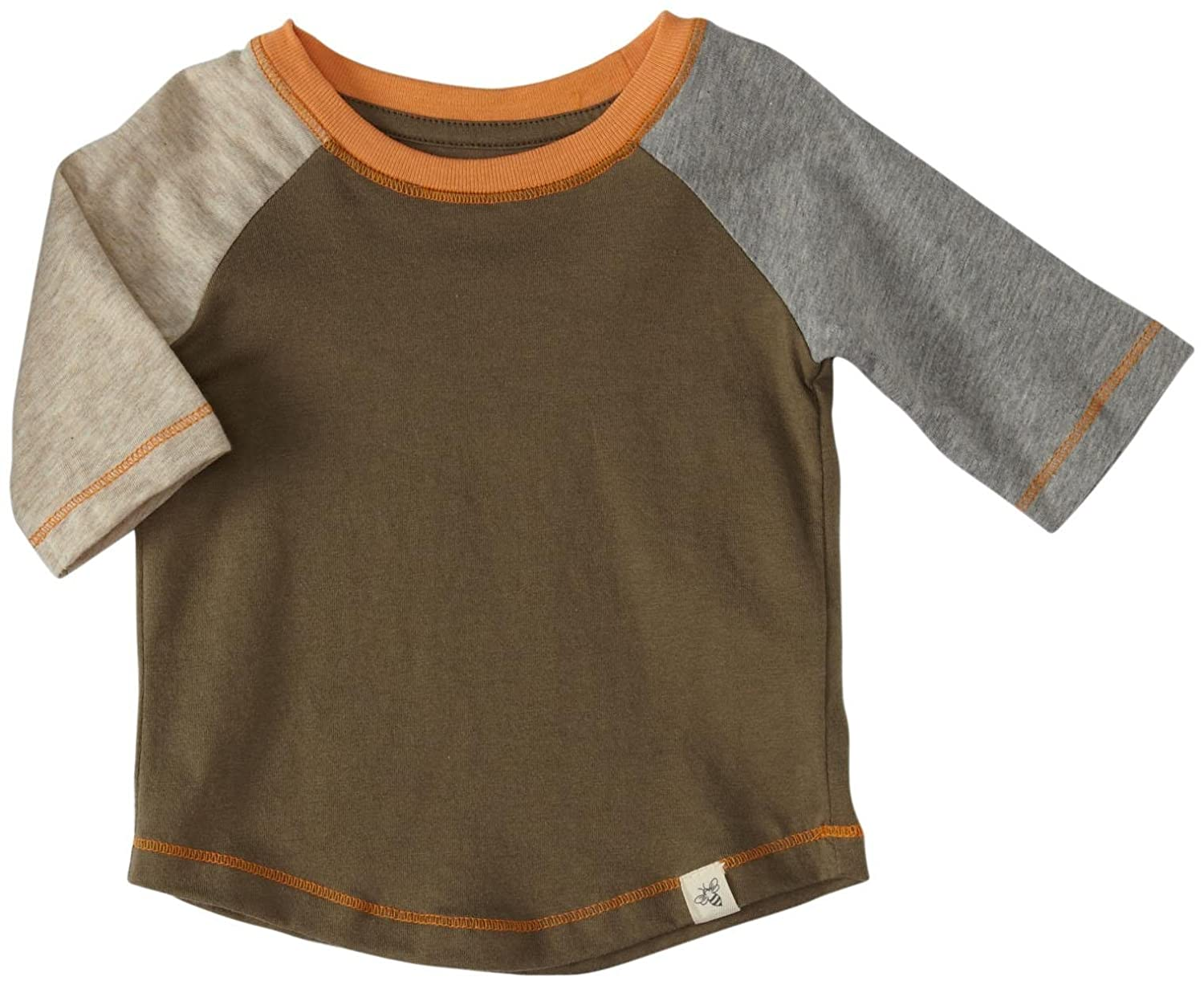 Olive Sprig 3-6 Months 100/% Organic Cotton Burts Bees Baby Baby Boys Style Name: T Short Sleeve Tee Under Shirt