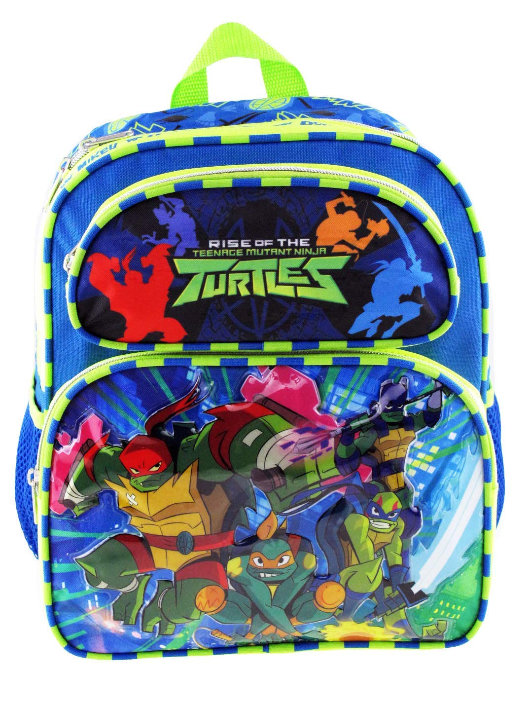 """Ninja Turtles 12"""" Toddler Size Backpack - Super Sword A16913"""