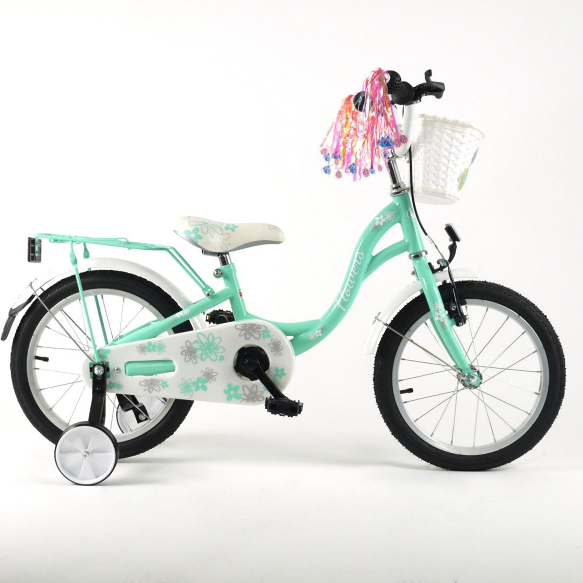 "16FLO-CYA Kinderfahrrad 16"" Zoll Kinderrad Fahrrad Spielrad Rad Bike Kinder"
