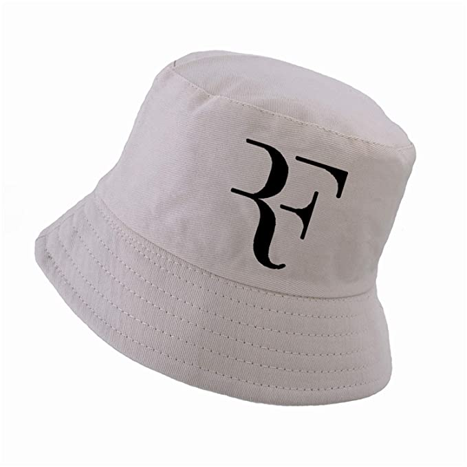f489c6812d7 2019 Tennis Star Roger Federer Dad Bucket hat Sport Fishing Cap 100% Cotton  3D Printing