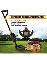 QUARK Detector de Metales Advanced Kids Gold Finder Cazador de Tesoros Pro Detector mecánico Modo de