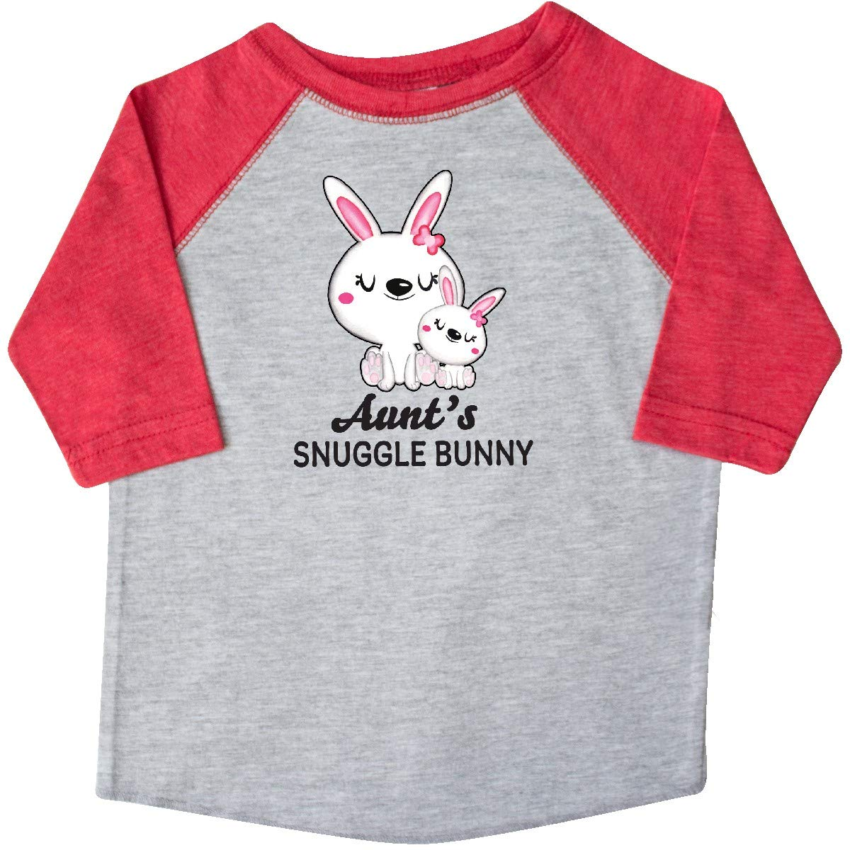 inktastic Aunts Snuggle Bunny Easter Toddler T-Shirt