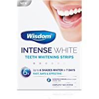 Wisdom Intense White - Teeth Whitening Strips (6 Shades Whiter in 7 Days)