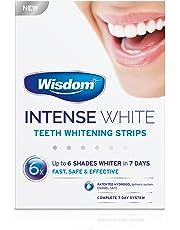 Wisdom Intense White - Teeth Whitening Strips (6 Shades Whiter in 7 Days)