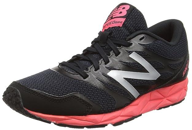 New Balance 590, Zapatillas de Running, Mujer, Multicolor (Black/Pink 018), 36.5 EU: Amazon.es: Zapatos y complementos