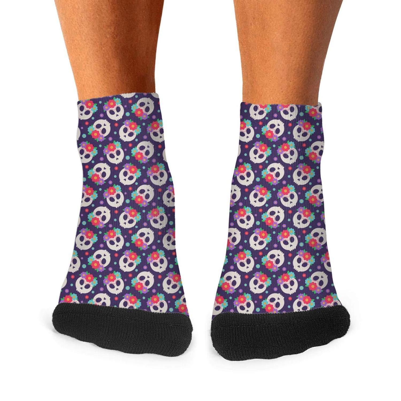 Floowyerion Mens little daisy eco daisy Novelty Sports Socks Crazy Funny Crew Tube Socks