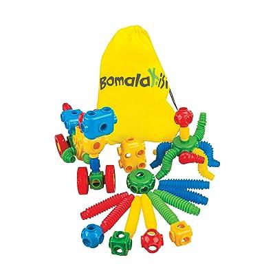 45 Piece Stretch Pop Tubes, Educational Building Set for Childrens Development, Stimulating Sensory Toy: Toys & Games